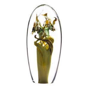 Glasreliek Levensboom crematie as urn