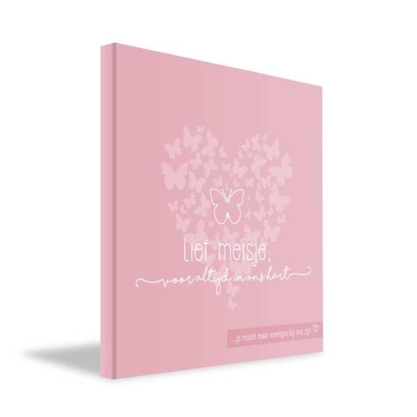 Lief dagboekje meisje baby