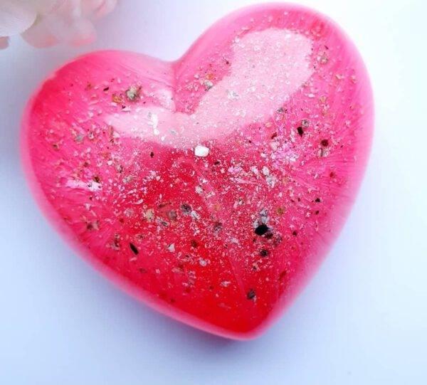 Resin urn hart roze ascreations