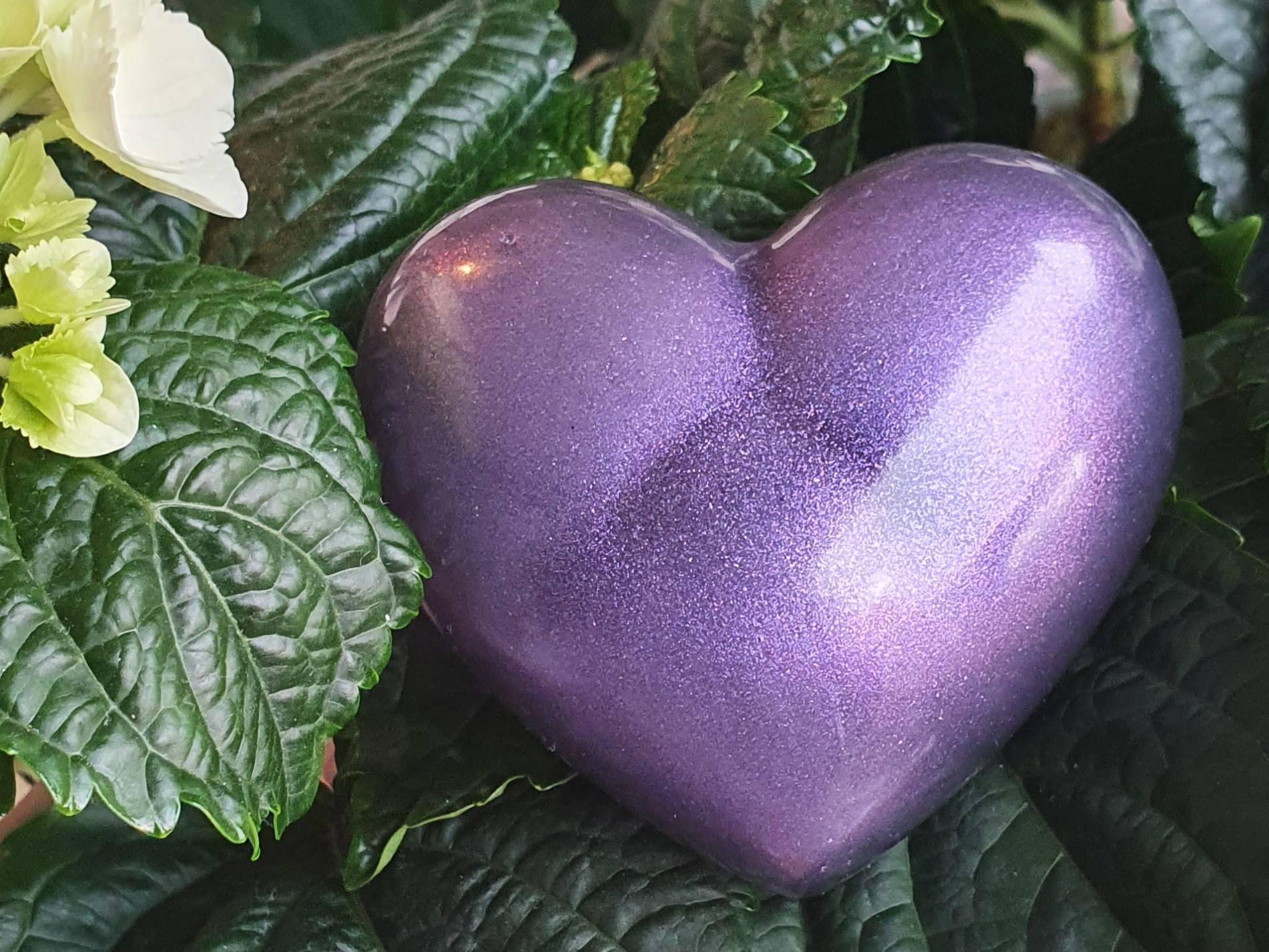 Resin urn hart ascreations