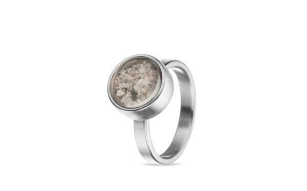 Tadblu asring assieraad zilver edelstenen