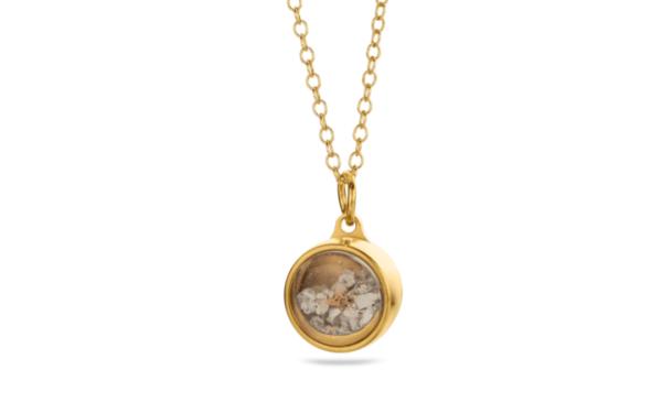 Tadblu assieraad ashanger goud edelsteen