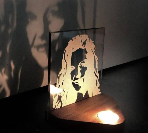Candle Portrait gedenkportret gedenken