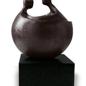Mini urn asbeeld Freyja brons (0,05liter)