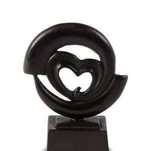 Mini urn beeld heartbroken brons ( 65ml)