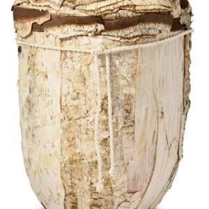 "Bio urn Berken ""boomlook"" Berkenbast (4,7Liter)"