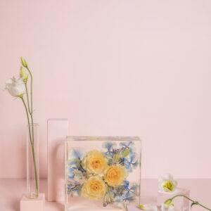 Bloemen in hars
